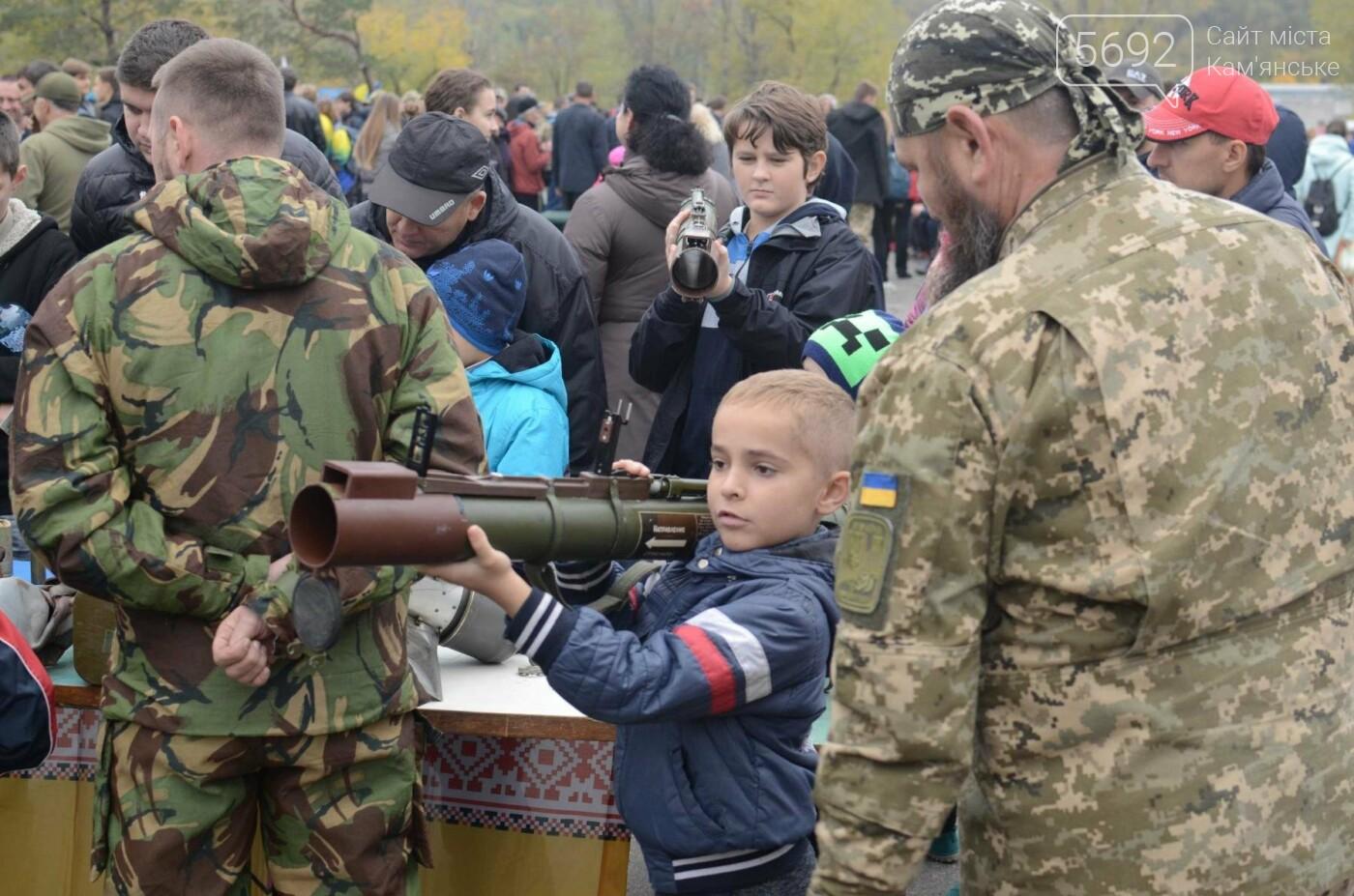 В Каменском соревновались юные патриоты, фото-24