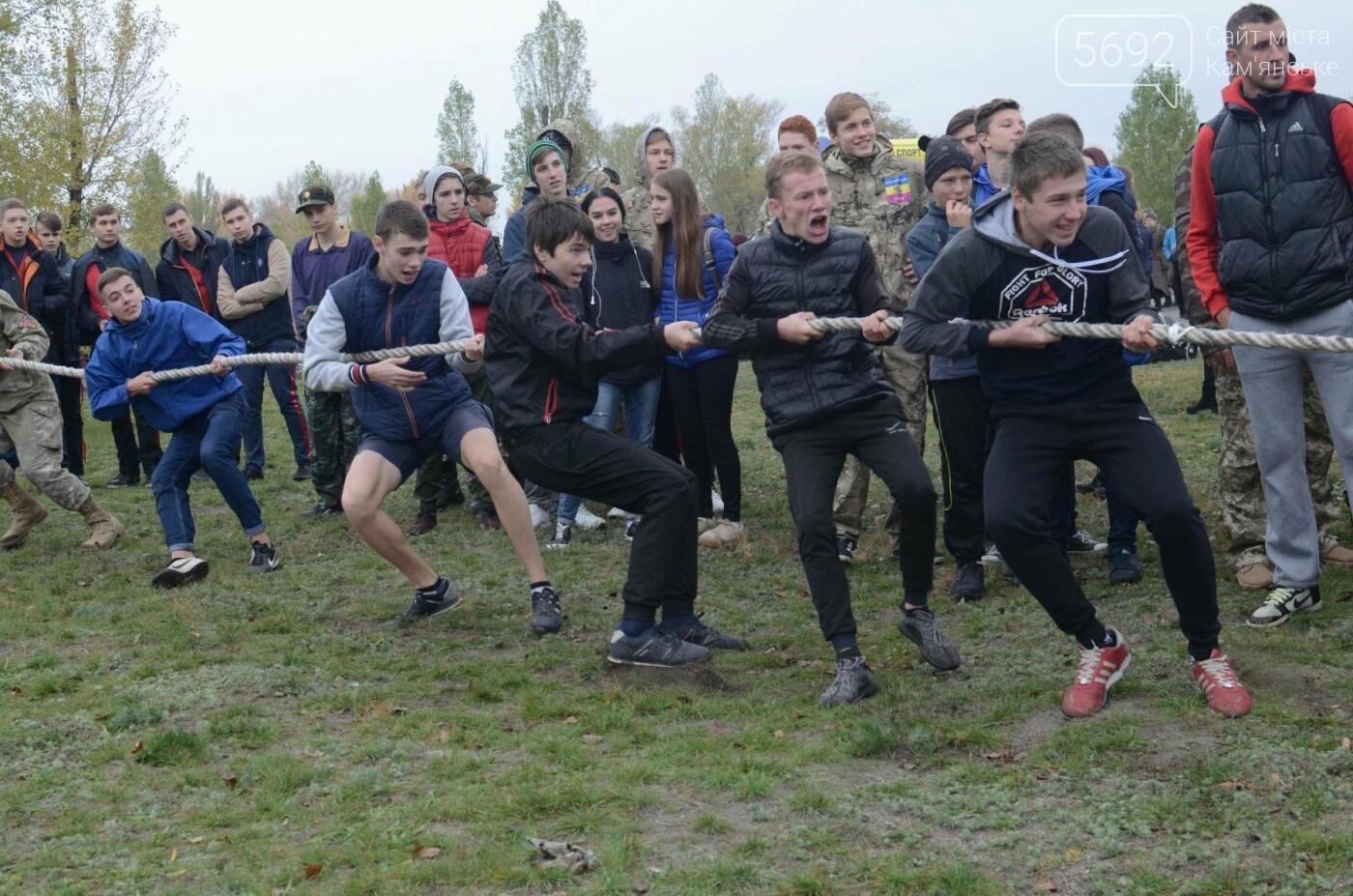 В Каменском соревновались юные патриоты, фото-3