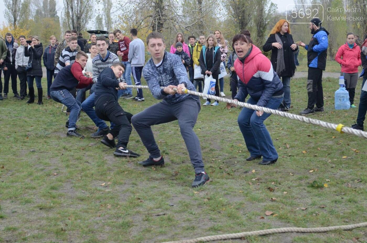 В Каменском соревновались юные патриоты, фото-1