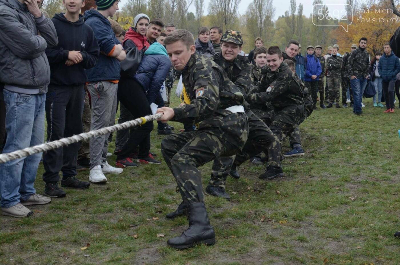 В Каменском соревновались юные патриоты, фото-6