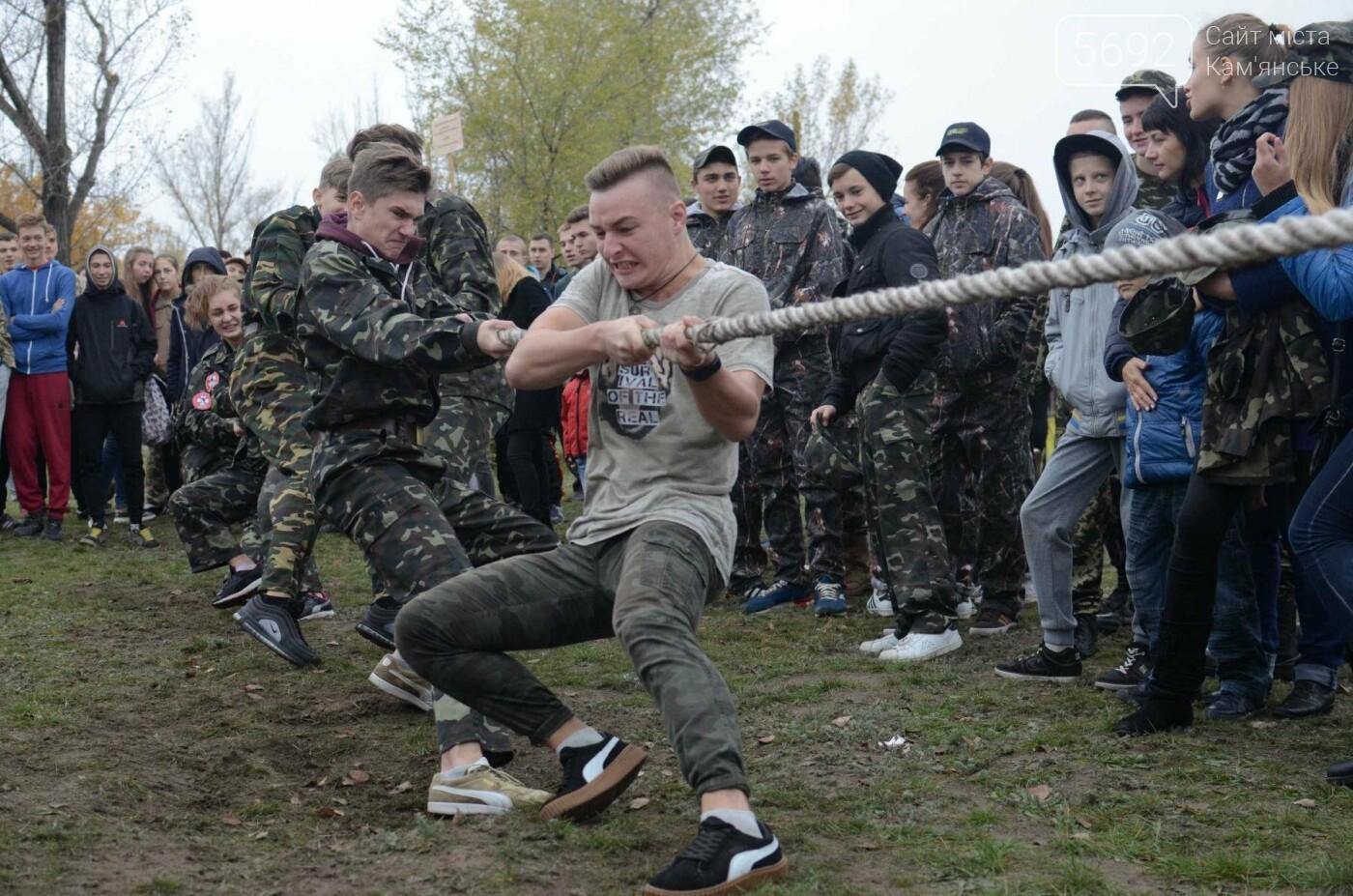В Каменском соревновались юные патриоты, фото-5