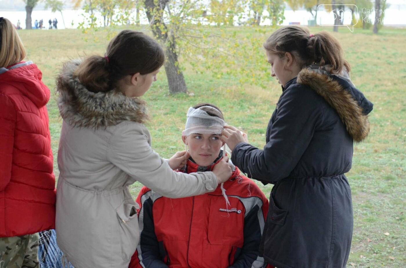 В Каменском соревновались юные патриоты, фото-26