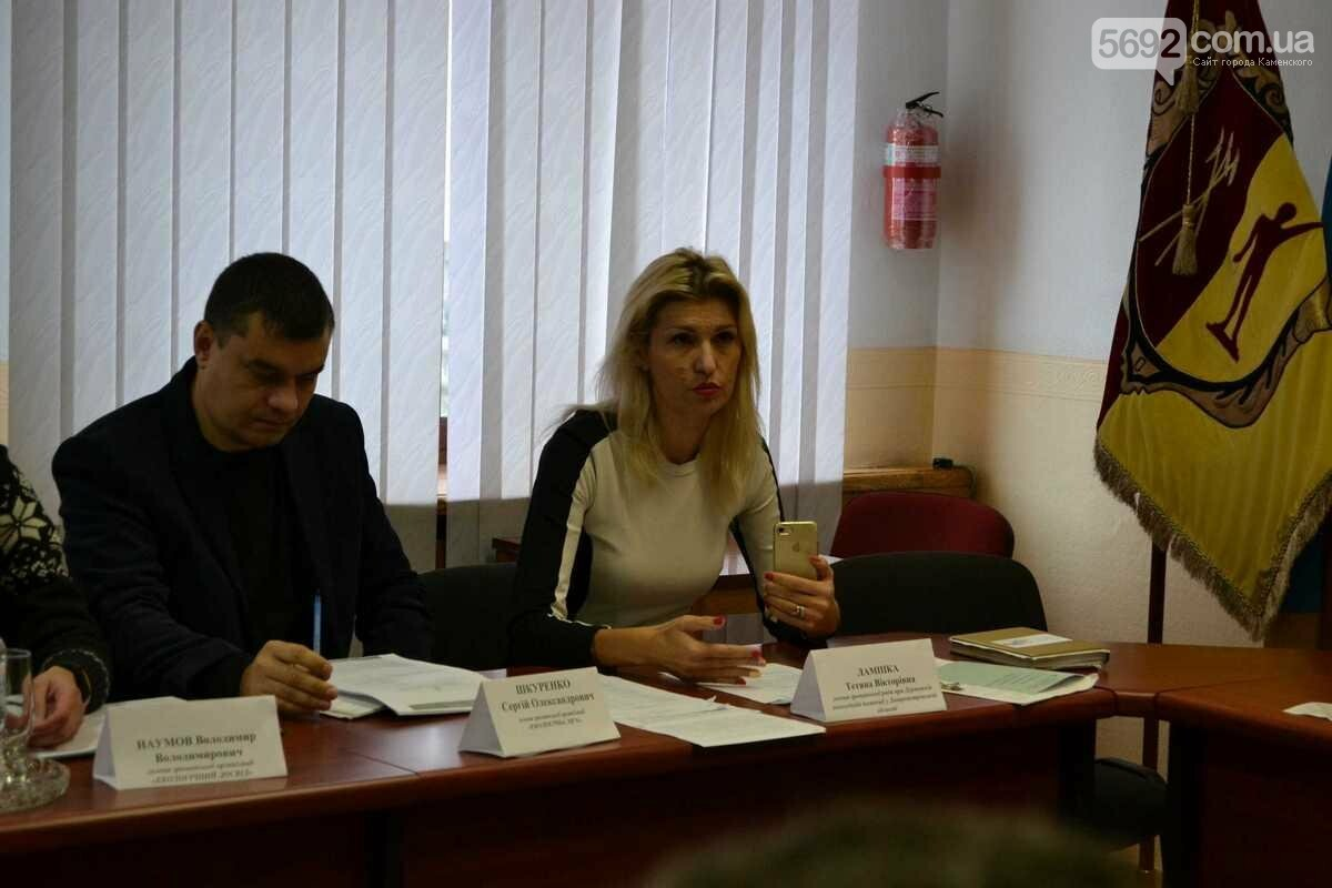 Общественные экологические инспектора заинтересовались предприятиями Каменского, фото-4