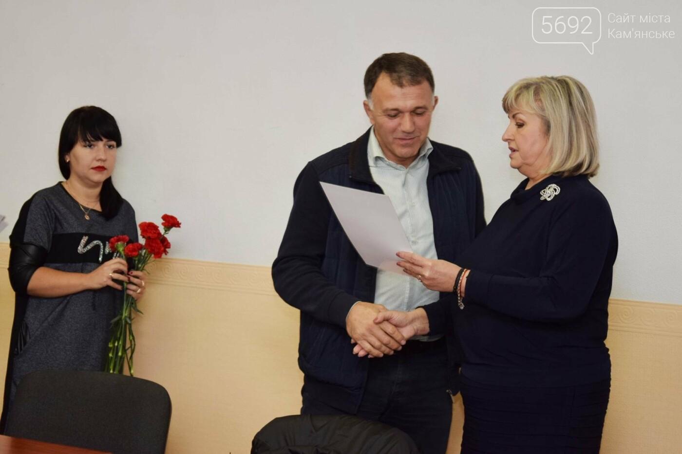 Перевозчиков Каменского поздравили с Днем автомобилиста, фото-2