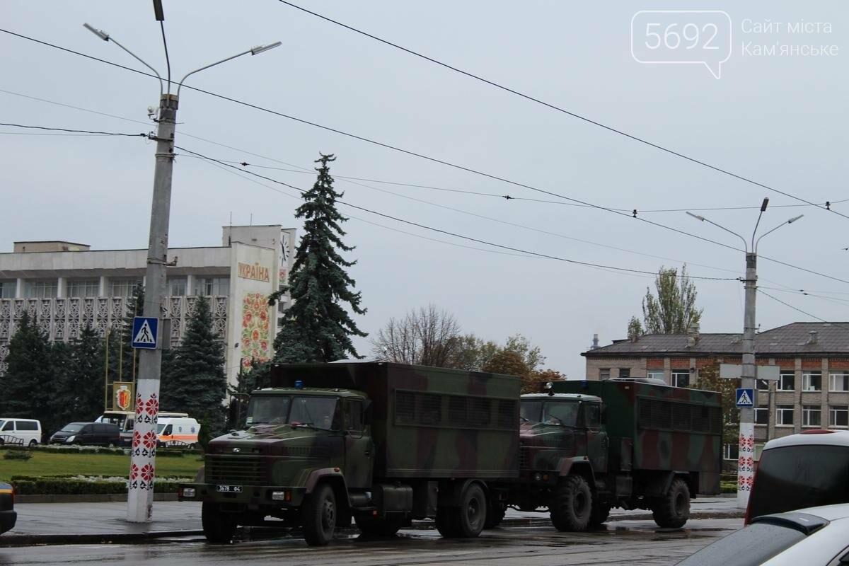 Полиция и военная техника: так в Каменском проходят антитеррористические учения, фото-5