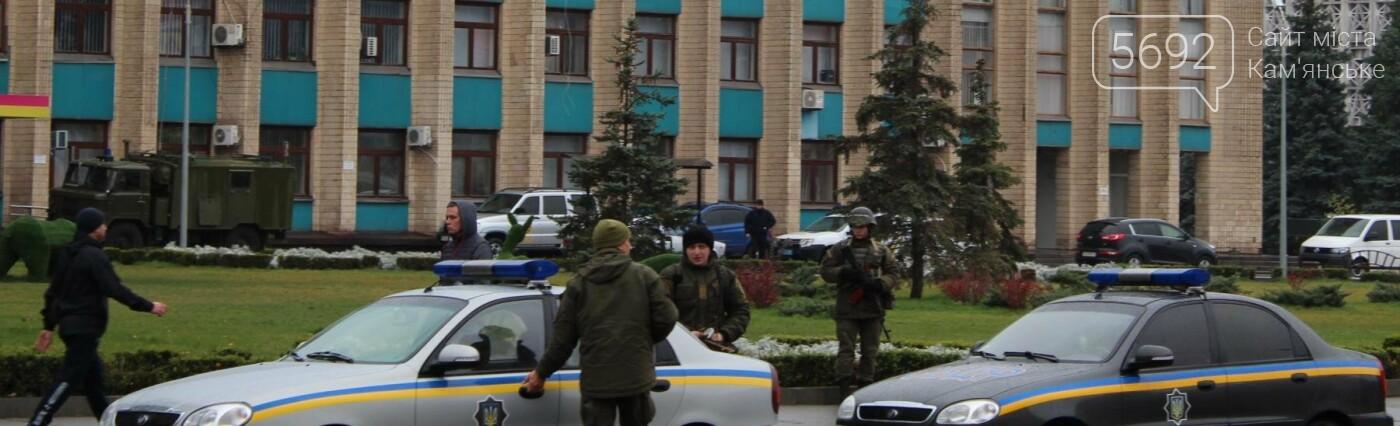 Полиция и военная техника: так в Каменском проходят антитеррористические учения, фото-1