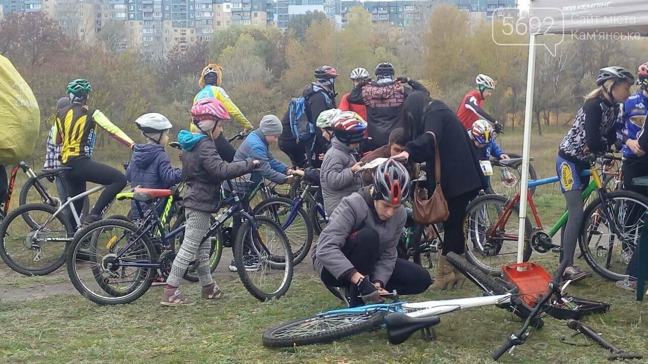 Велосипедисты Каменского завершили велосезон, фото-5
