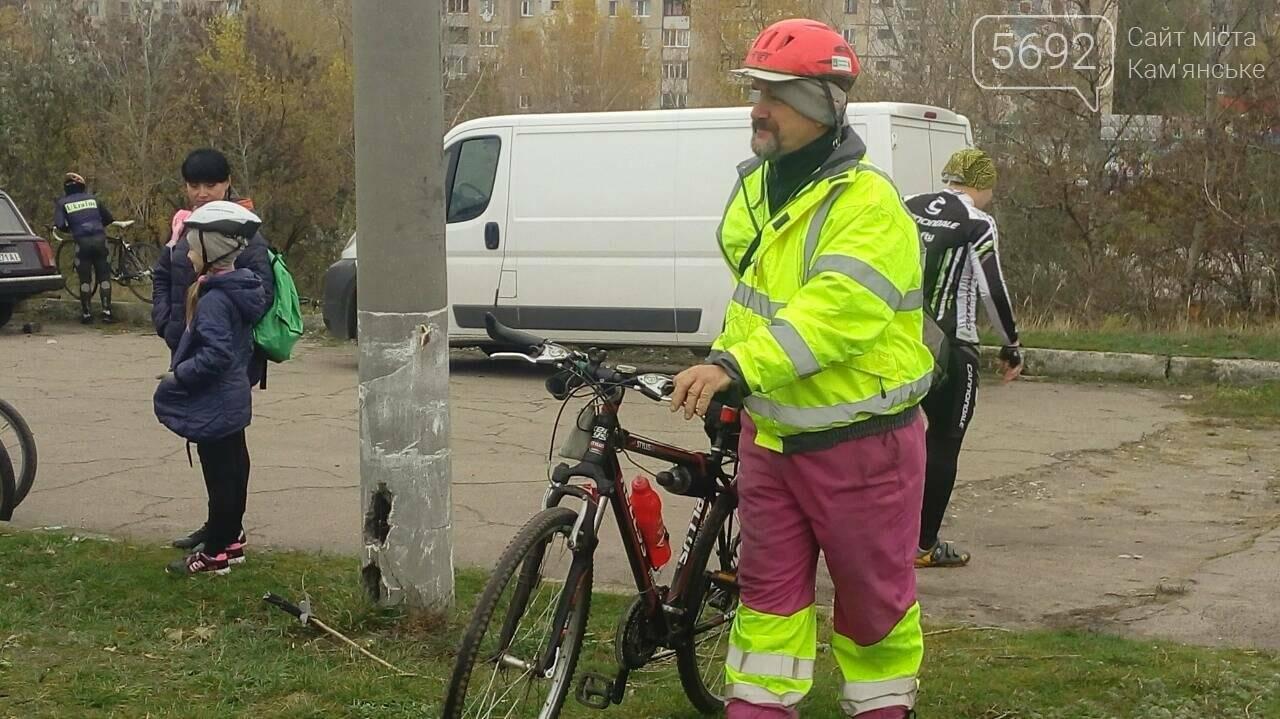 Велосипедисты Каменского завершили велосезон, фото-13