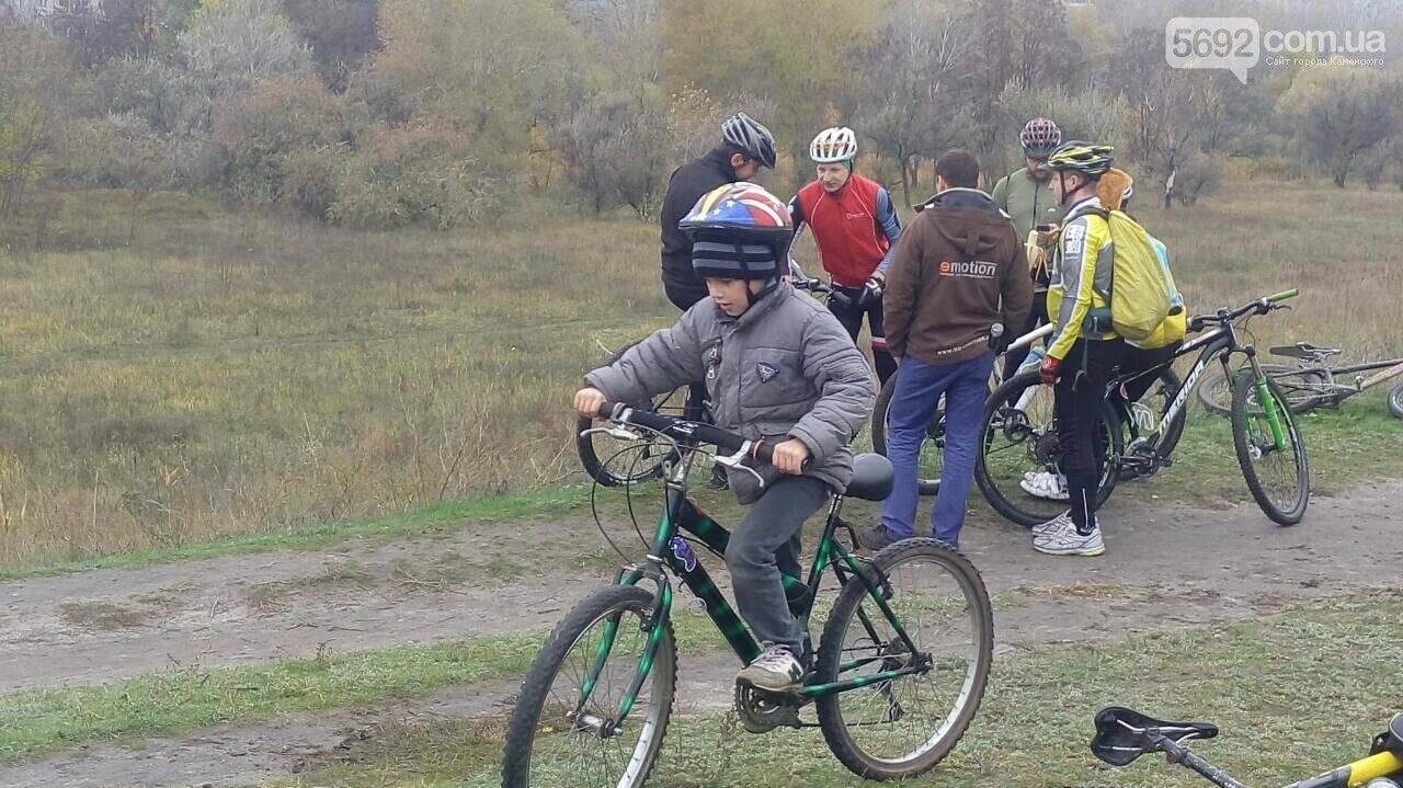 Велосипедисты Каменского завершили велосезон, фото-2