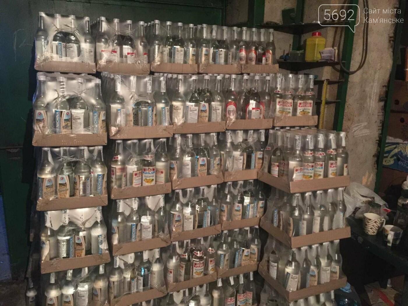Прокуратура и полиция Каменского изъяли паленую водку, фото-4