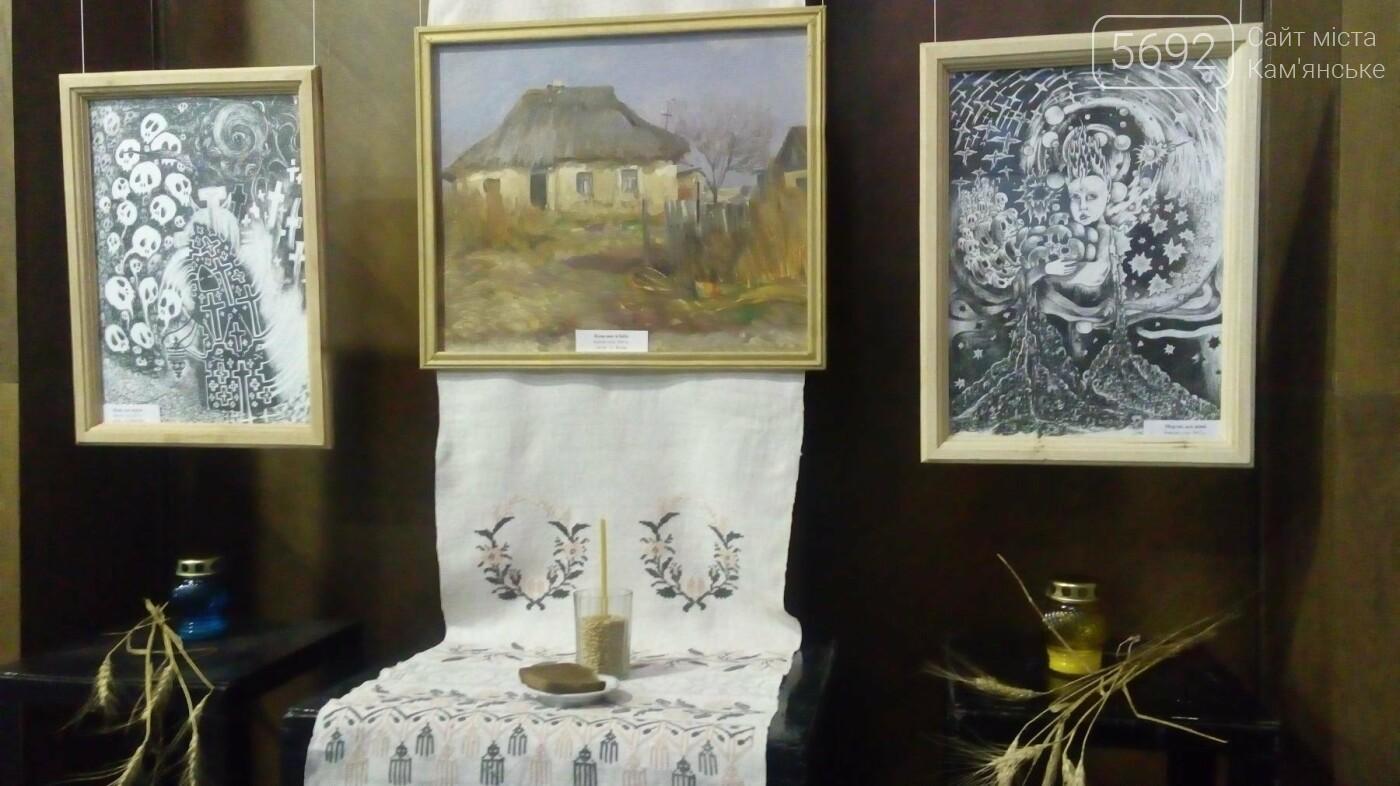 В музее истории Каменского открылась выставка, посвященная Голодомору, фото-2