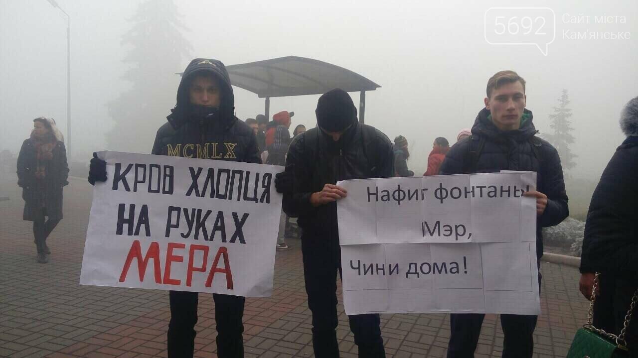 Каменчане митингуют возле здания городского совета , фото-1