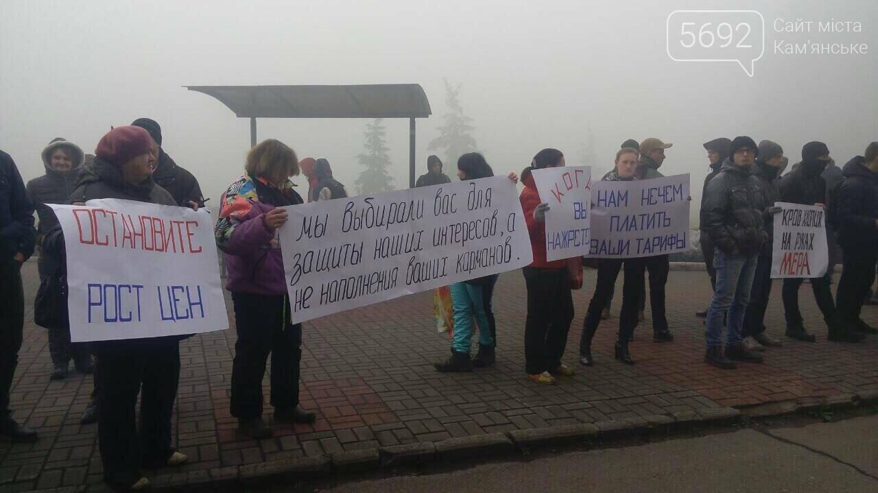 Каменчане митингуют возле здания городского совета , фото-2