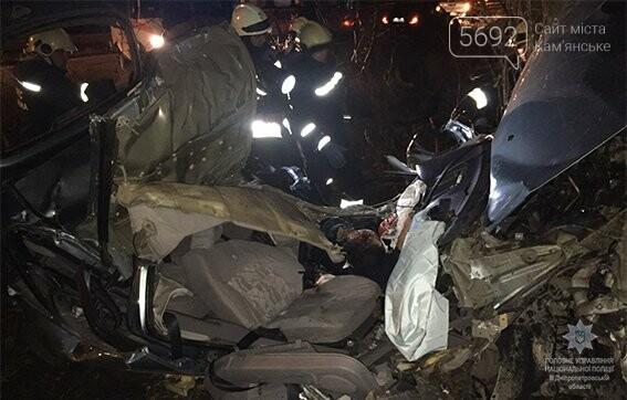 Полиция расследует обстоятельства смертельного ДТП вблизи Каменского, фото-3