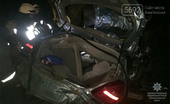 Полиция расследует обстоятельства смертельного ДТП вблизи Каменского, фото-1