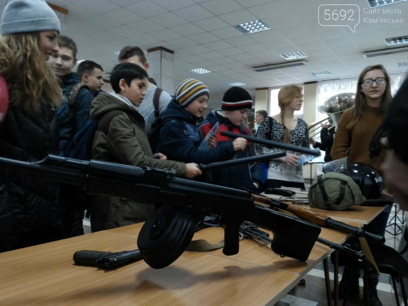 Школьников Каменского агитировали учиться на полицейских, фото-2