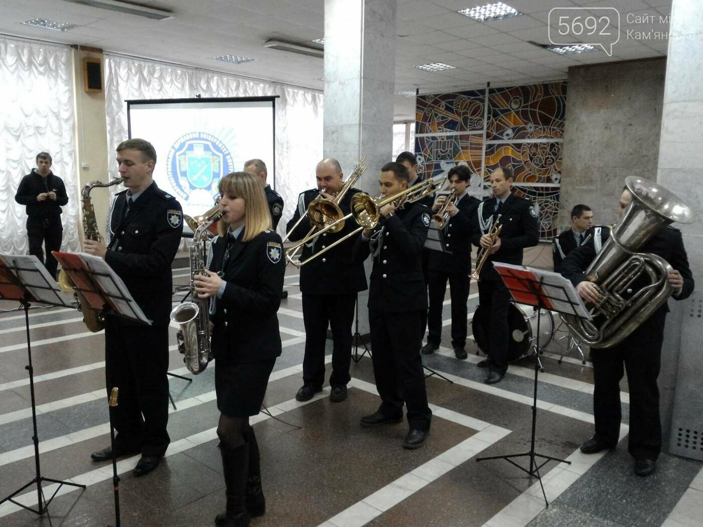 Школьников Каменского агитировали учиться на полицейских, фото-13