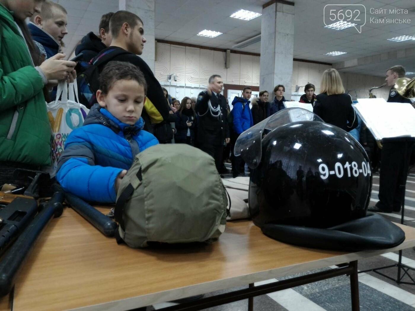 Школьников Каменского агитировали учиться на полицейских, фото-4