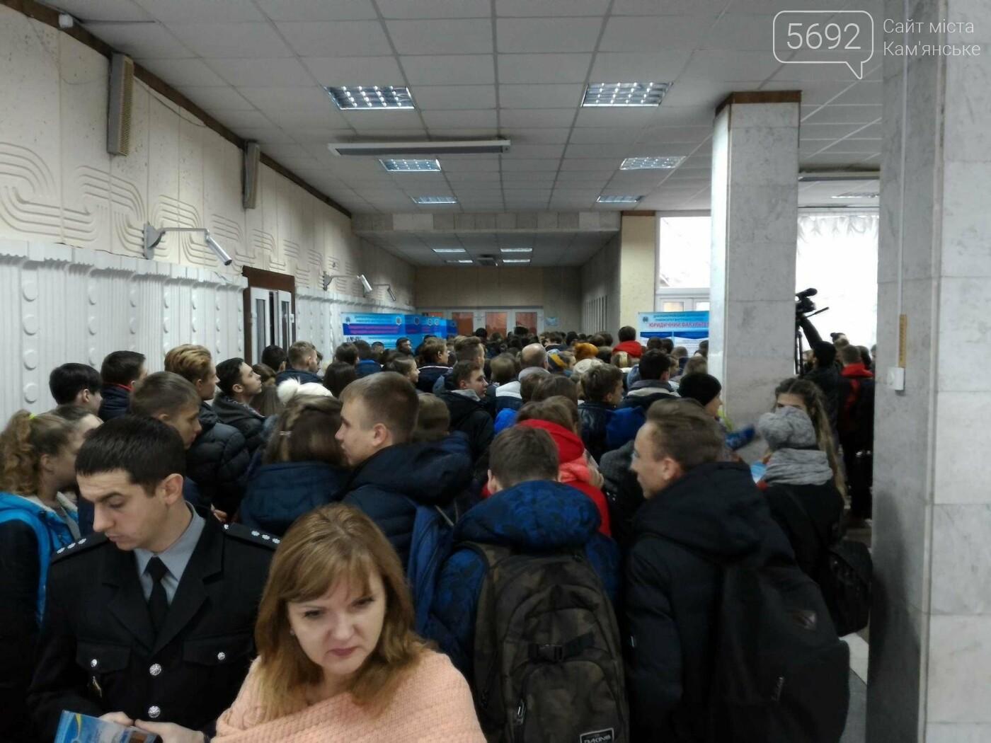 Школьников Каменского агитировали учиться на полицейских, фото-5
