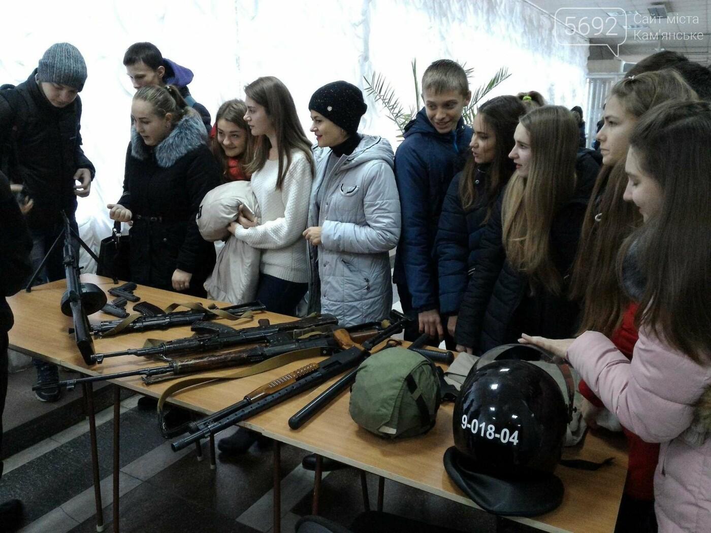 Школьников Каменского агитировали учиться на полицейских, фото-14
