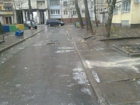 Обуваем ледоходы: дороги Каменского накрыл гололед, фото-1