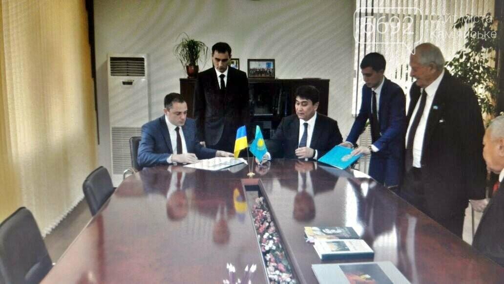 Каменское и Темиртау заключили договор о сотрудничестве , фото-2