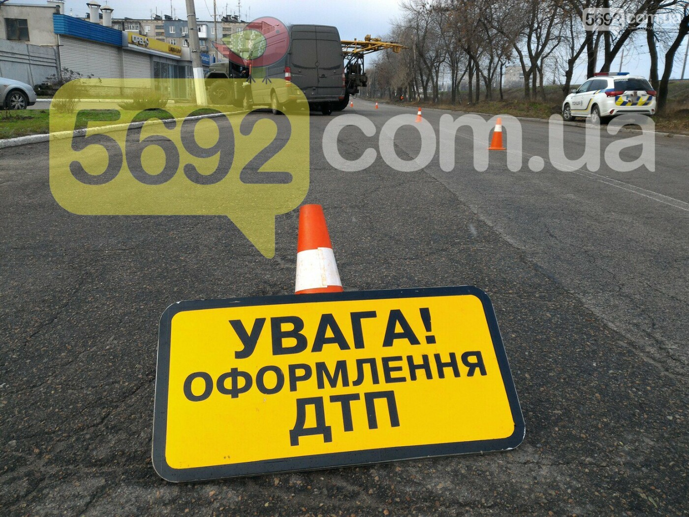 """ДТП в Каменском: Mercedes врезался в """"ЗИЛ"""", фото-3"""
