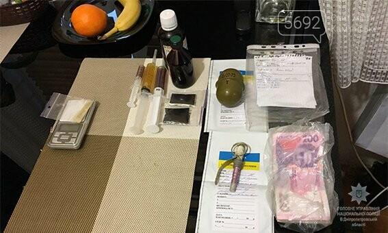 В Каменском задержали наркосбытчика с гранатой, фото-5