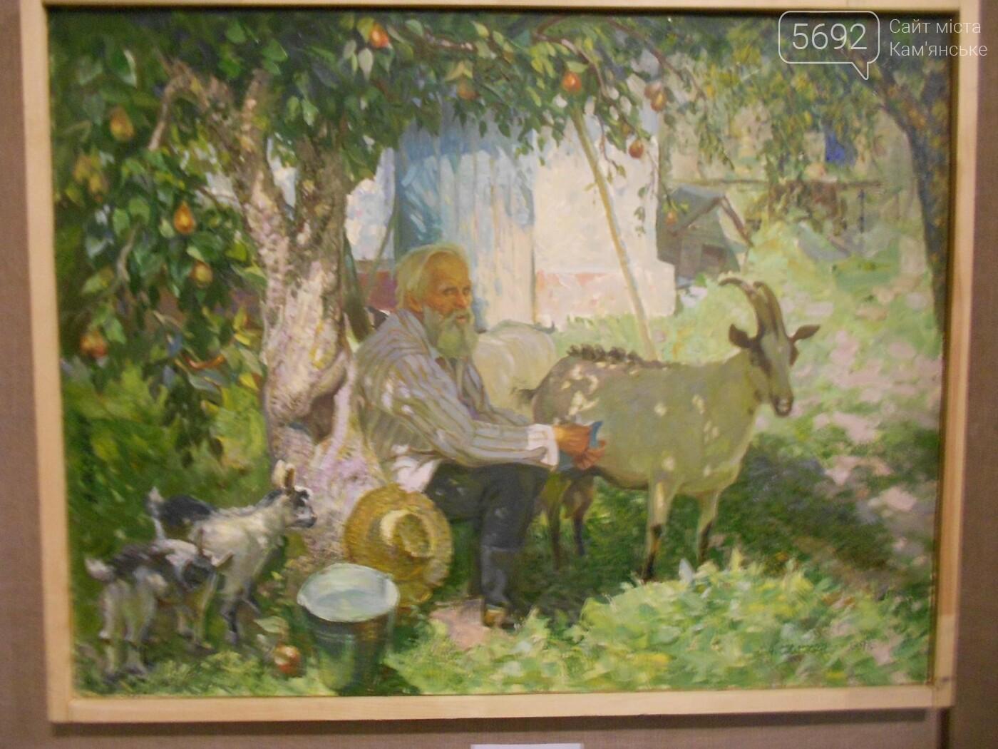 В Каменском открылась юбилейная выставка известного художника Анатолия Жежера, фото-17