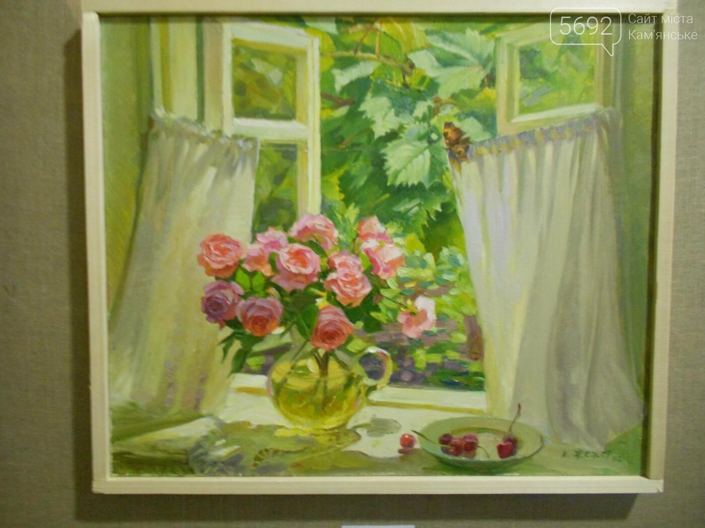 В Каменском открылась юбилейная выставка известного художника Анатолия Жежера, фото-18