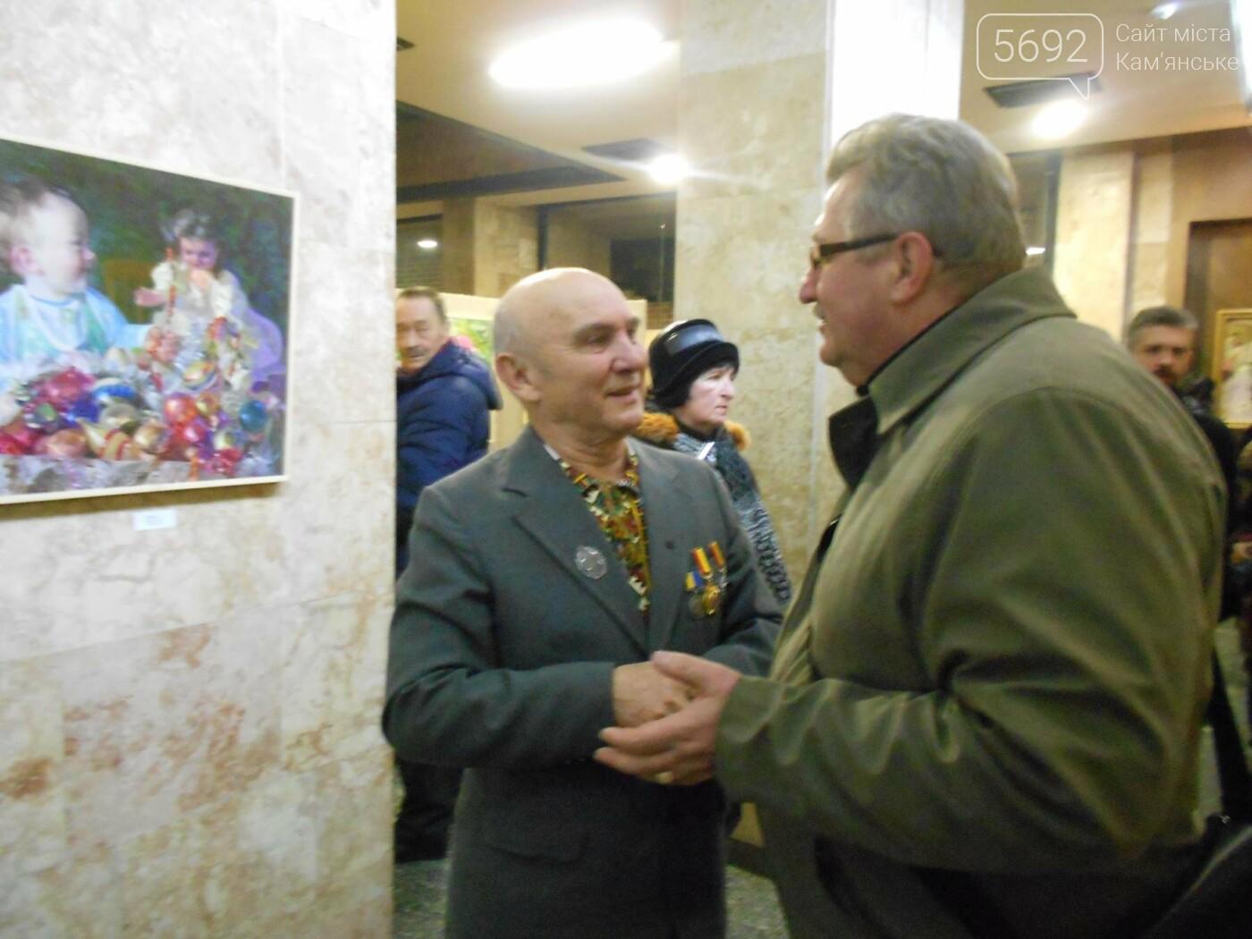 В Каменском открылась юбилейная выставка известного художника Анатолия Жежера, фото-19