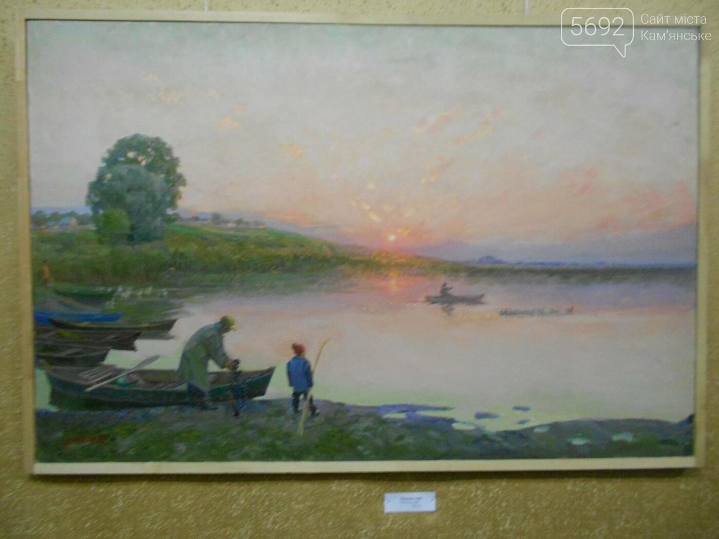 В Каменском открылась юбилейная выставка известного художника Анатолия Жежера, фото-5