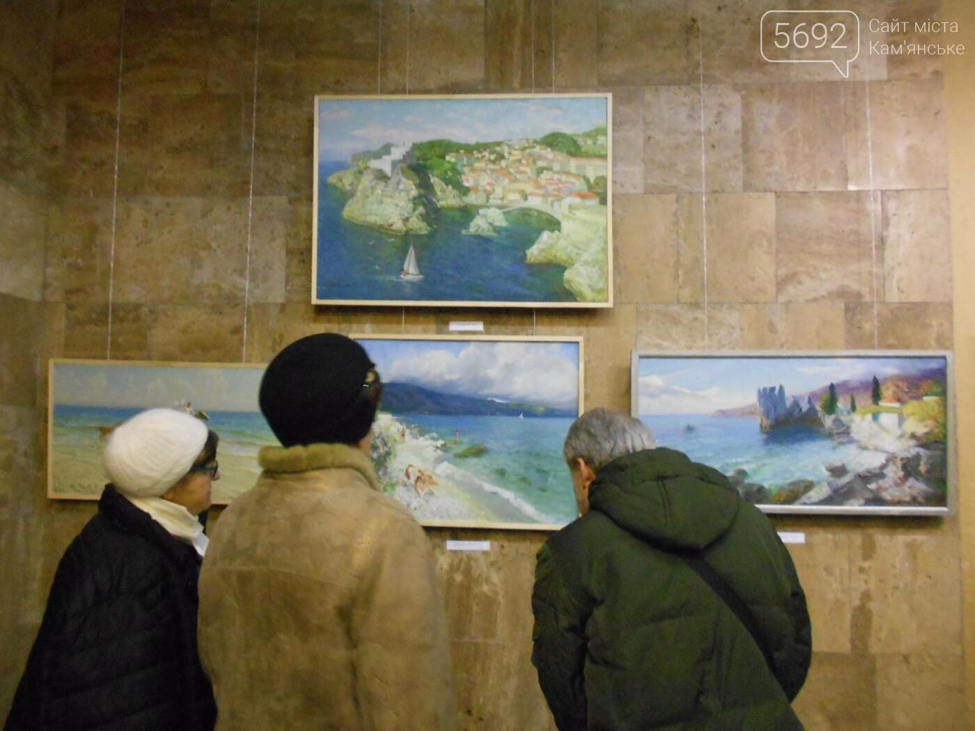 В Каменском открылась юбилейная выставка известного художника Анатолия Жежера, фото-9