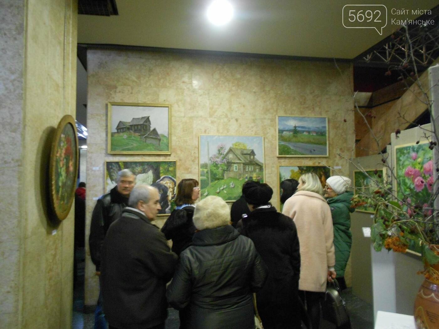 В Каменском открылась юбилейная выставка известного художника Анатолия Жежера, фото-10