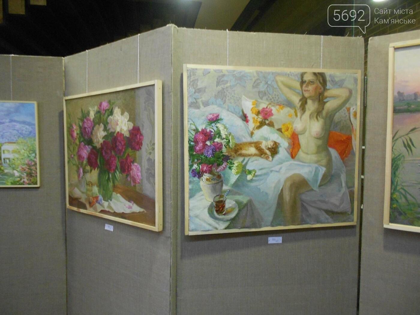 В Каменском открылась юбилейная выставка известного художника Анатолия Жежера, фото-11