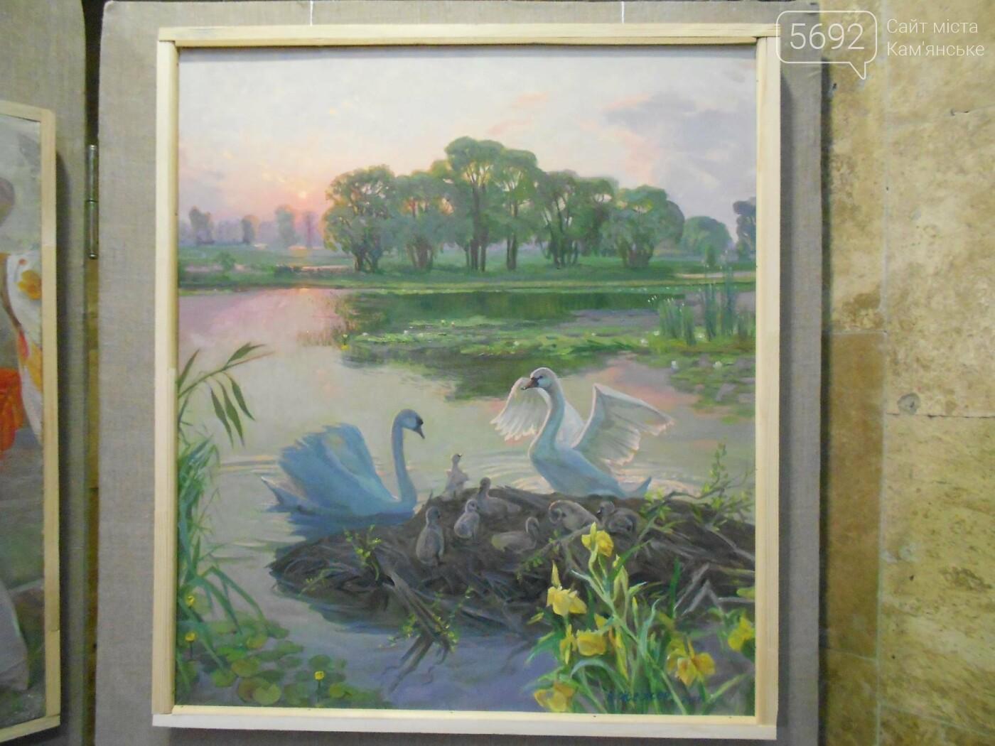 В Каменском открылась юбилейная выставка известного художника Анатолия Жежера, фото-20