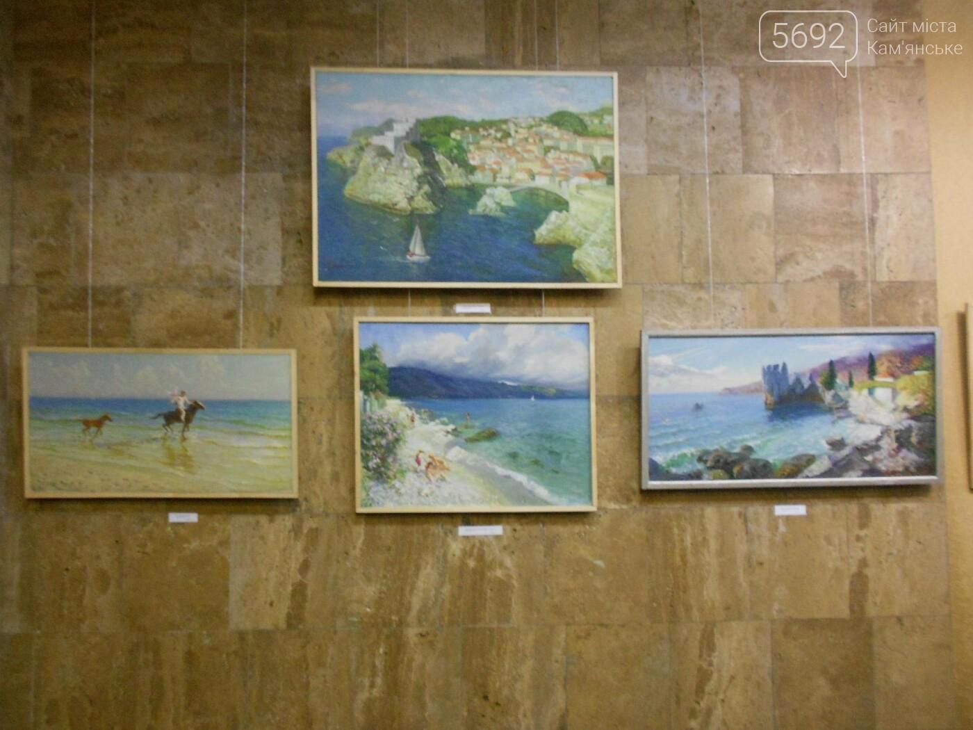 В Каменском открылась юбилейная выставка известного художника Анатолия Жежера, фото-4