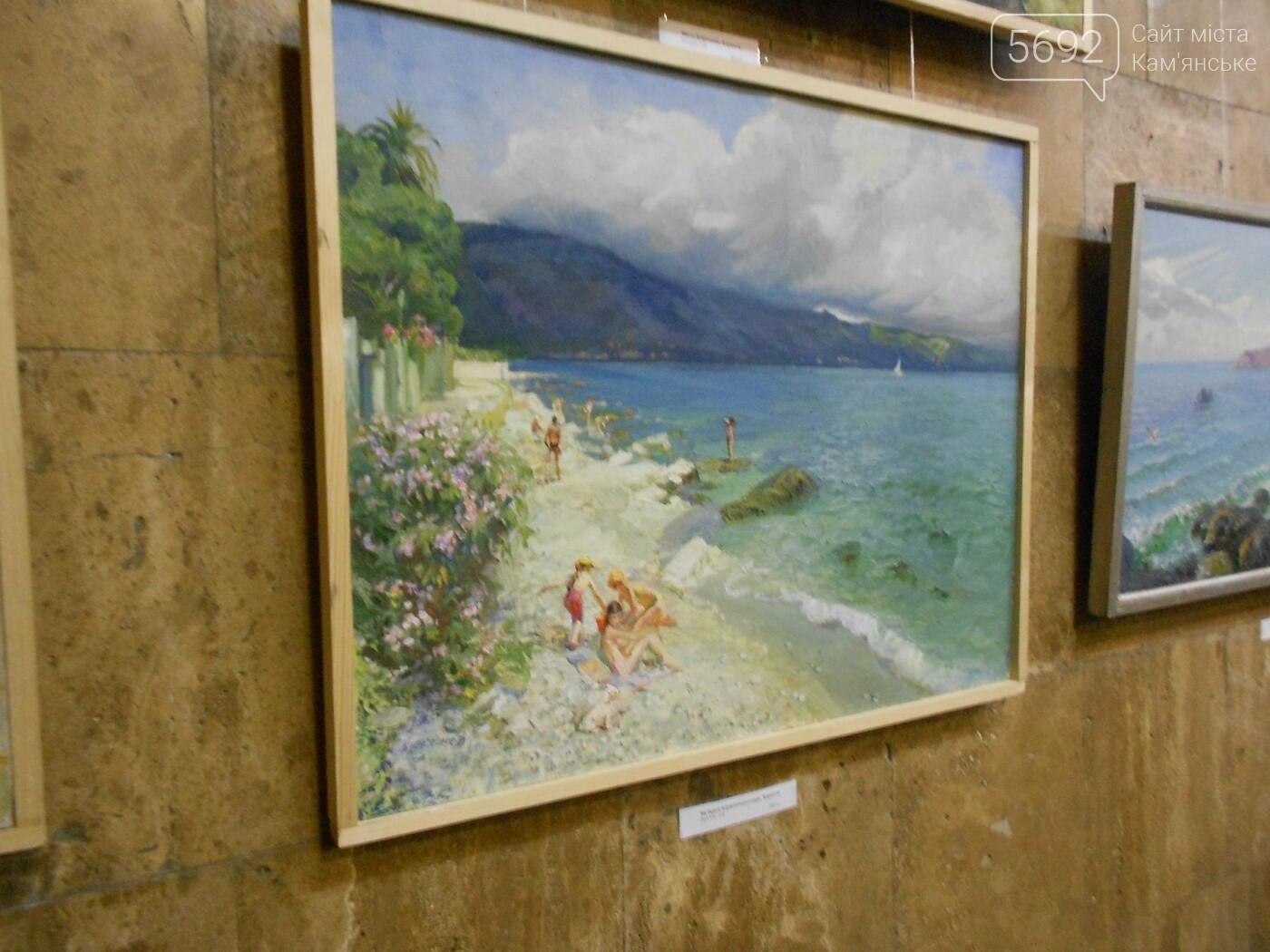 В Каменском открылась юбилейная выставка известного художника Анатолия Жежера, фото-6