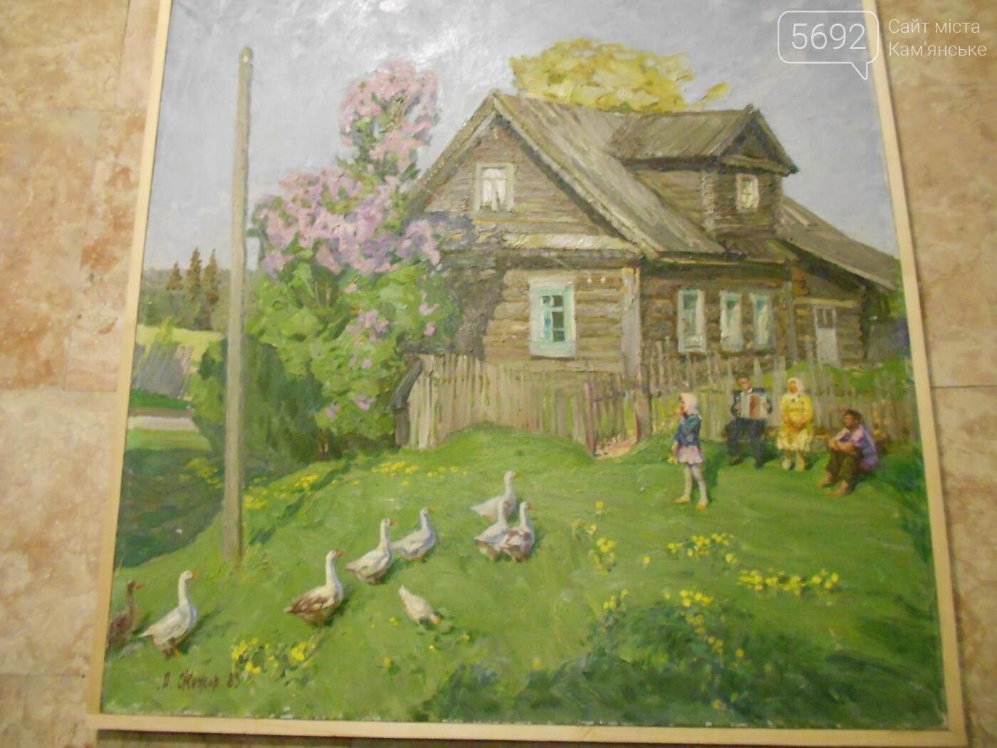 В Каменском открылась юбилейная выставка известного художника Анатолия Жежера, фото-21