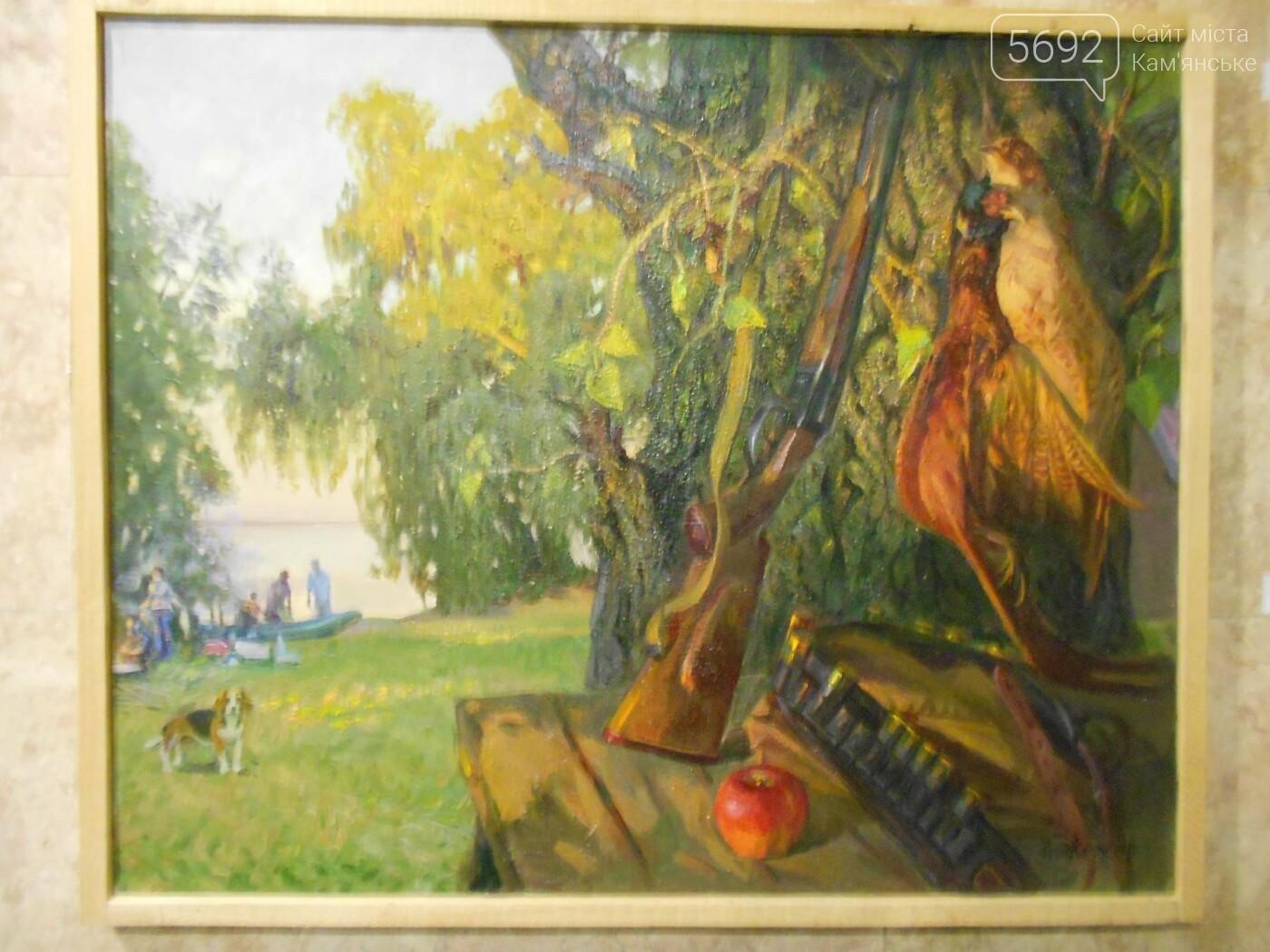 В Каменском открылась юбилейная выставка известного художника Анатолия Жежера, фото-13