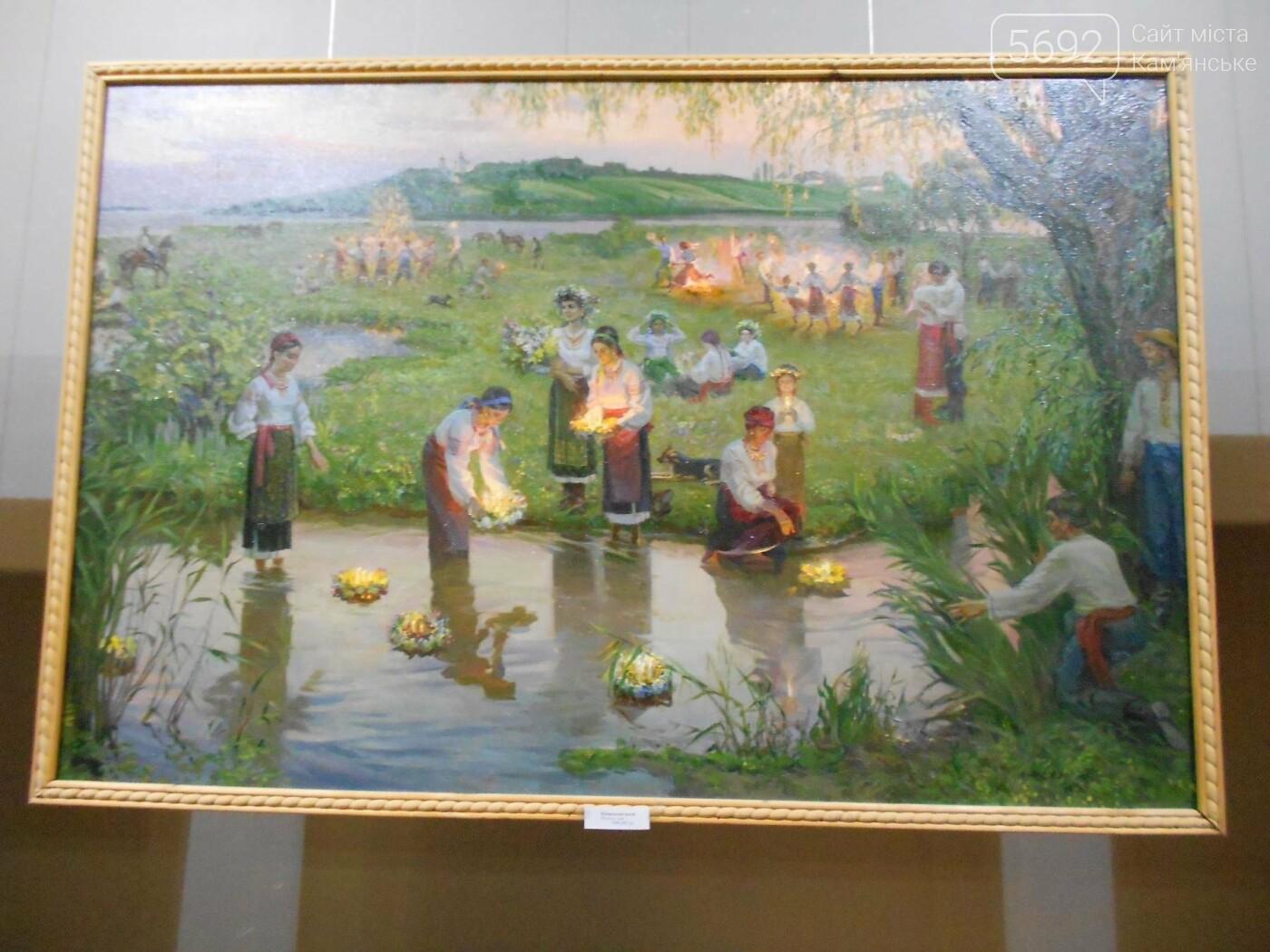 В Каменском открылась юбилейная выставка известного художника Анатолия Жежера, фото-23