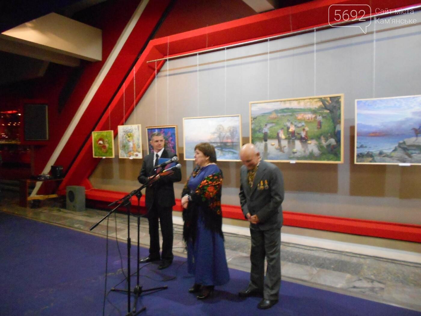 В Каменском открылась юбилейная выставка известного художника Анатолия Жежера, фото-22