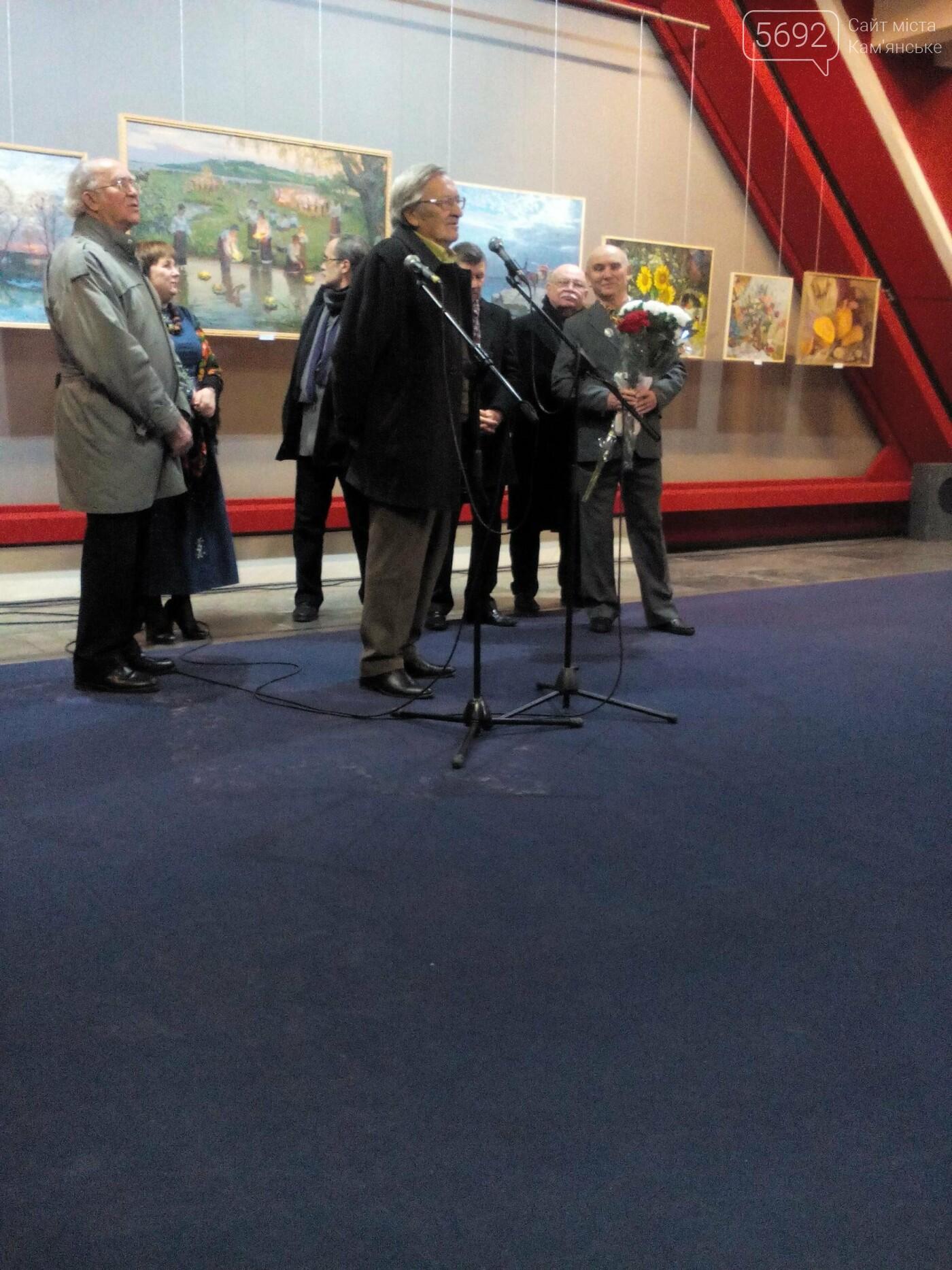 В Каменском открылась юбилейная выставка известного художника Анатолия Жежера, фото-1