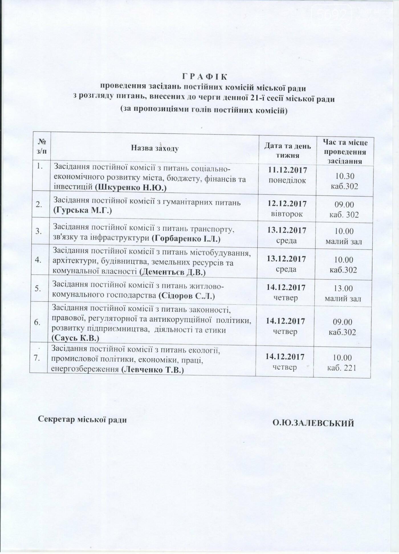 Каменчан приглашают на заседания депутатских комиссий, фото-2