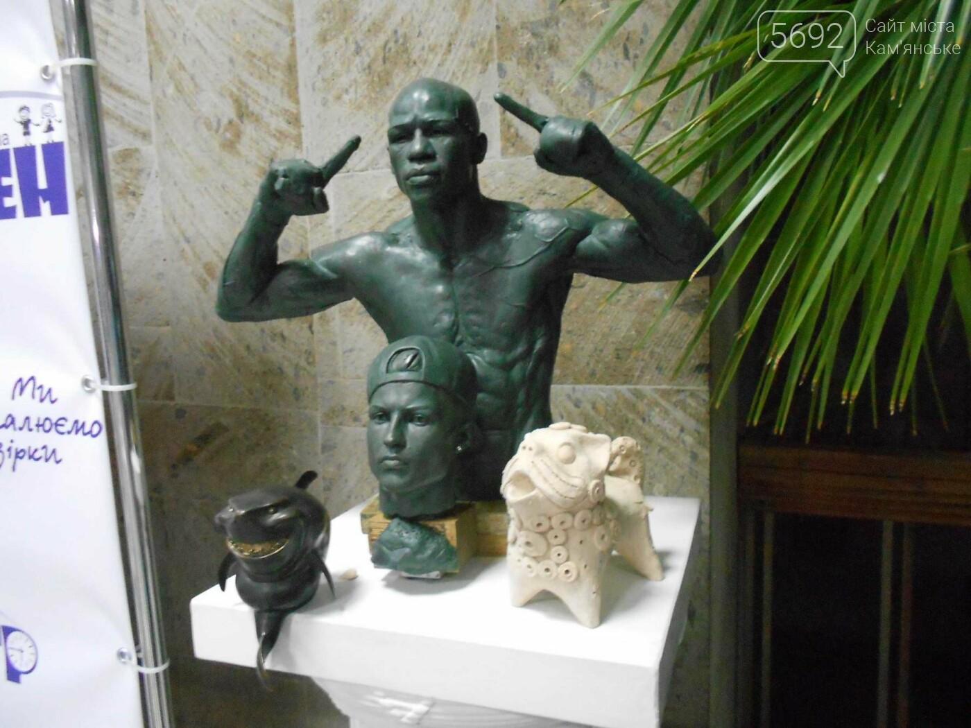 От пластилина до искусства: в Каменском открылась выставка скульптора Сергея Болдова, фото-10
