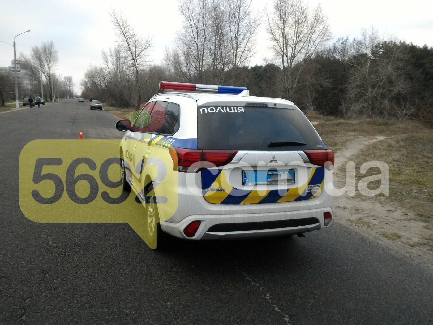 ДТП в Каменском: Smart вылетел в кювет, один погибший, фото-1