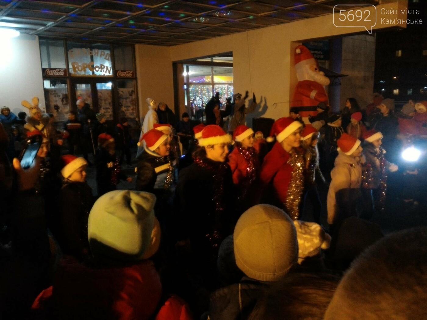 В Каменском открыли новогоднюю елку, фото-8