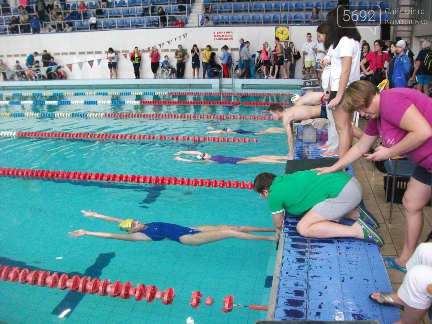 В Каменском соревновались пловцы с ограниченными возможностями, фото-1