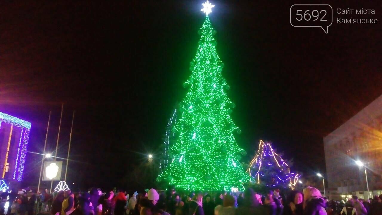 В Каменском зажглась главная елка, фото-2