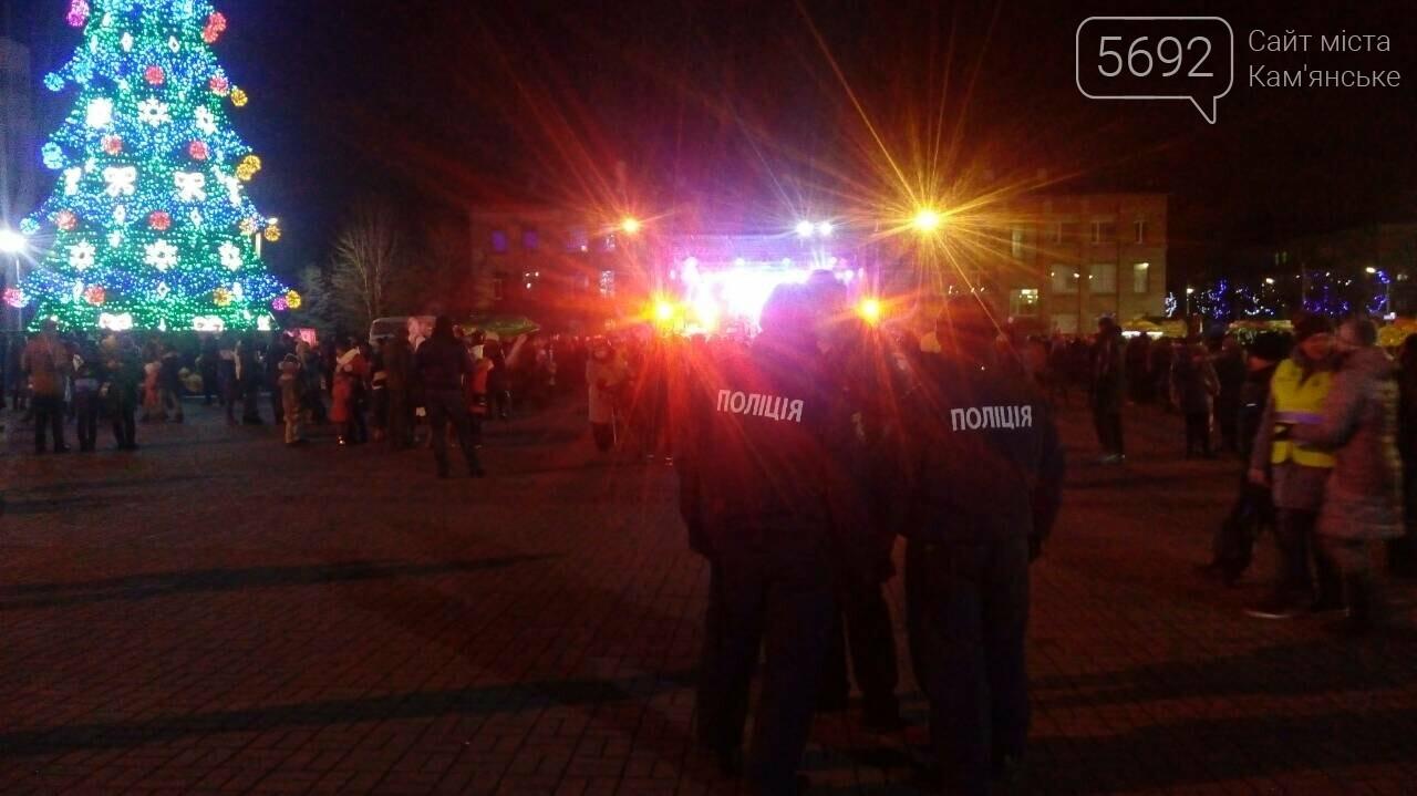 В Каменском зажглась главная елка, фото-8